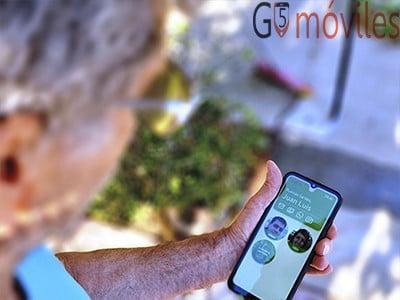 Smartphone para mayores Maximiliana