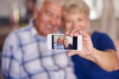 smartphones para personas mayores